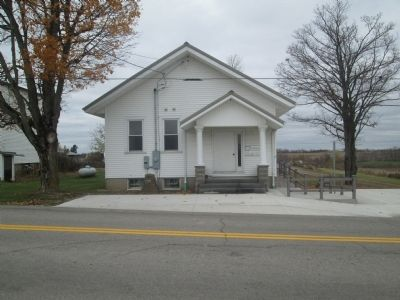 Monroe Township Hall image. Click for full size.