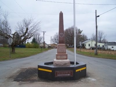 Pickrelltown Veterans Monument image. Click for full size.