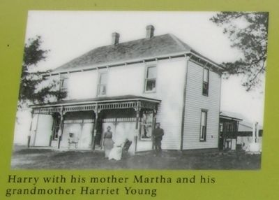Harry Truman with his Mother and Grandmother image. Click for full size.