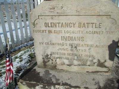 Olentangy Battle Monument image. Click for full size.