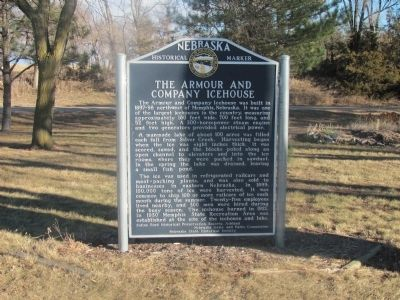 The Armour and Company Icehouse Marker image. Click for full size.