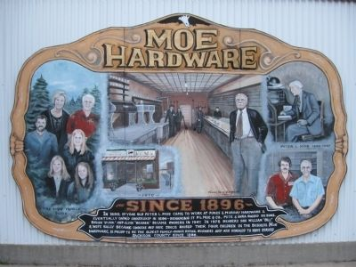 Moe Hardware Marker image. Click for full size.