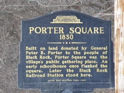 Porter Square Marker image. Click for full size.