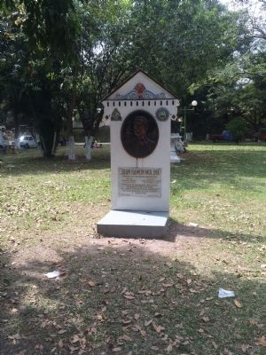 Wide view of Juan Ramon Molina Marker image. Click for full size.