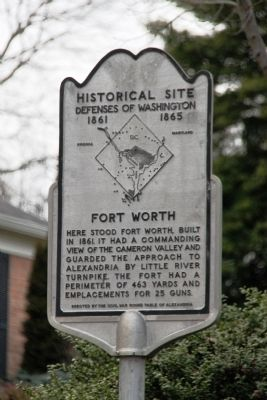 Fort Worth Marker image. Click for full size.
