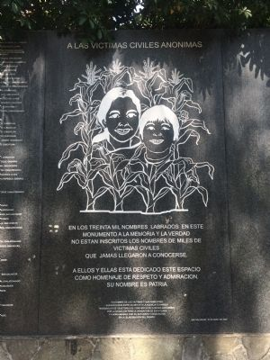 Monument to Memory and Truth Marker (April 2009 marker) image. Click for full size.