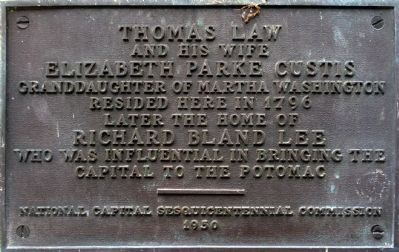 Thomas Law Marker image. Click for full size.