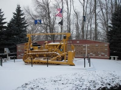 U.S. Navy Seabee Veterans Memorial image. Click for full size.