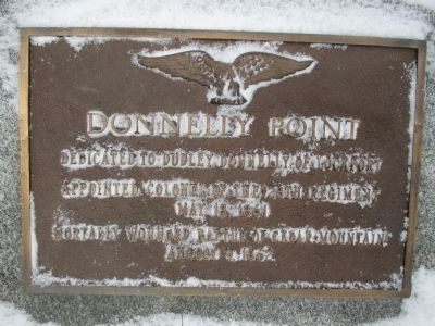 Donnelly Point Memorial image. Click for full size.