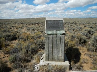 The Oregon Trail Marker image. Click for full size.