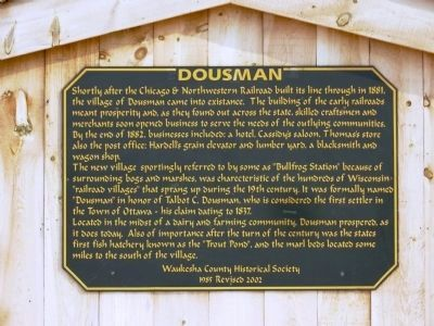 Dousman Marker image. Click for full size.