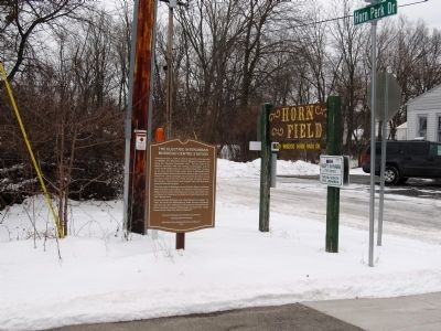 The Electric Interurban Muskego Centre Station Marker image. Click for full size.