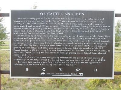 Of Cattle and Men Marker image. Click for full size.