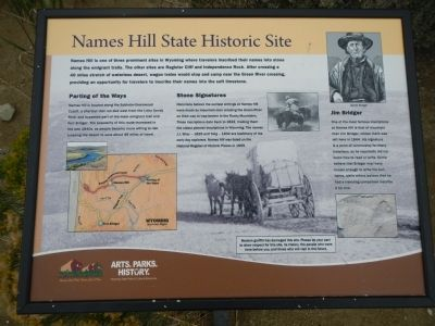 Names Hill State Historic Site Marker image. Click for full size.