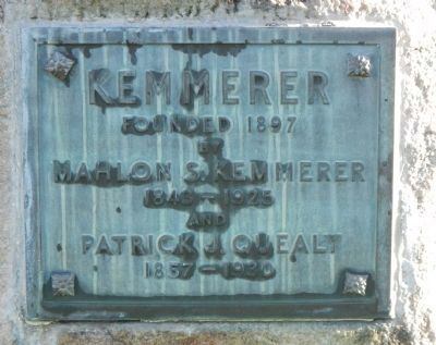 Kemmerer Founders Monument Marker image. Click for full size.