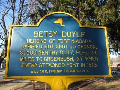 Betsy Doyle Marker image. Click for full size.