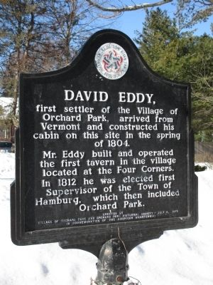 David Eddy Marker image. Click for full size.