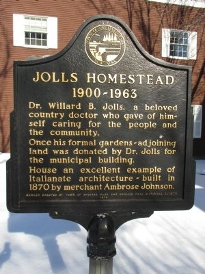 Jolls Homestead Marker image. Click for full size.