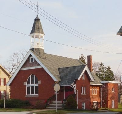 The Taneytown Presbyterian Church<br>36 York Street image. Click for full size.