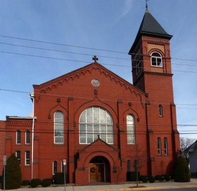 Trinity Lutheran Church<br>28 West Baltimore Street image. Click for full size.