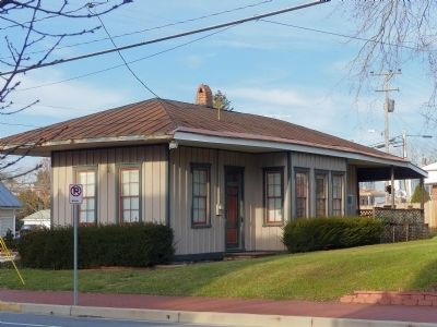 The Original Taneytown Train Station<br>105 East Baltimore Street image. Click for full size.