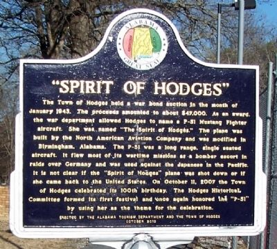 """Spirit of Hodges"" Marker image. Click for full size."
