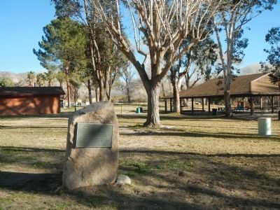 Morongo Indian Village Marker image. Click for full size.