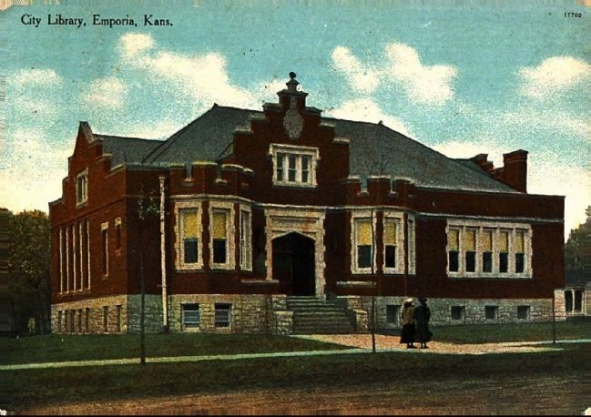 <i>City Library, Emporia, Kans.</i> image. Click for full size.