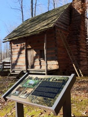 The Duckett Cabin Marker image. Click for full size.
