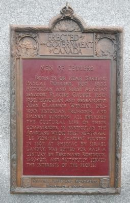 Men of Letters Marker (English) image. Click for full size.
