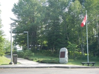 The Battle of the Restigouche Marker image. Click for full size.