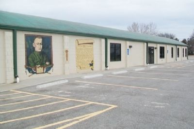 Lieut. William Fitzsimons Mural image. Click for full size.