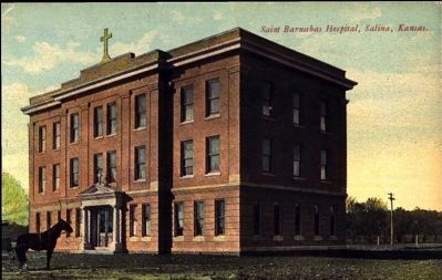 <i>Saint Barnabas Hospital, Salina, Kansas</i> image. Click for full size.