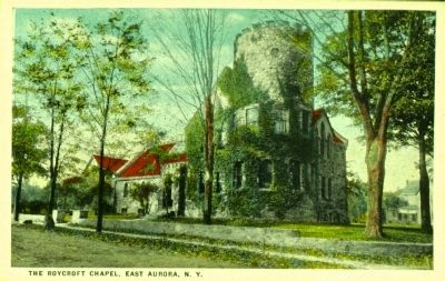 <i>The Roycroft Chapel, East Aurora, N.Y.</i> image. Click for full size.