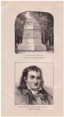 General Simon Kenton image. Click for full size.