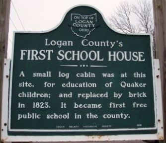 Second Church/ First School Marker image. Click for full size.