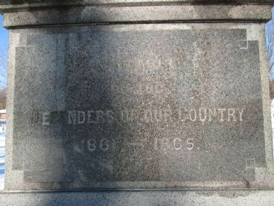 Right Inscription (South Side) image. Click for full size.