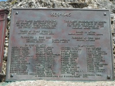 Percé World War II Monument Marker image. Click for full size.
