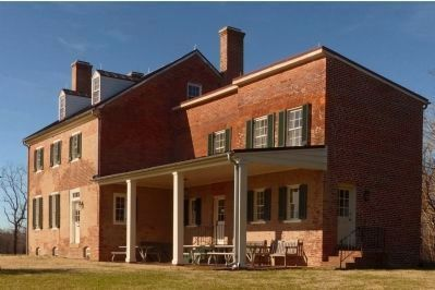 Mount Calvert Federal Period Plantation House<br>East Wing image. Click for full size.