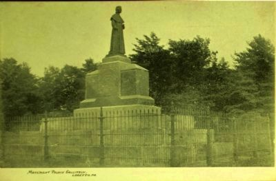 <i>Monument Prince Gallitzen, Loretto, Pa.</i> image. Click for full size.