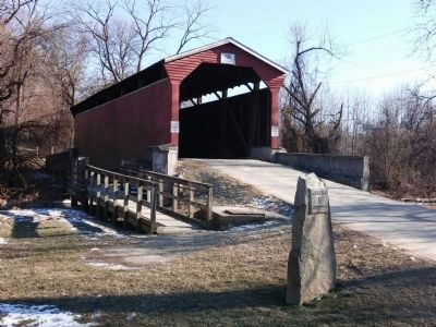 Foxcatcher Farm Covered Bridge image. Click for full size.