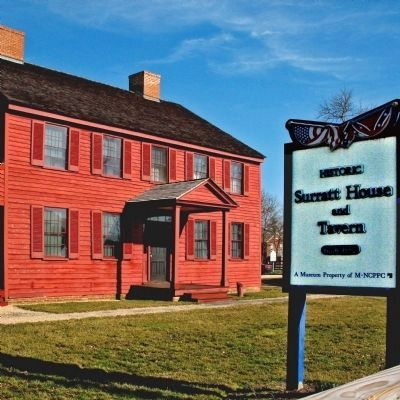 Surratt House and Tavern image. Click for full size.
