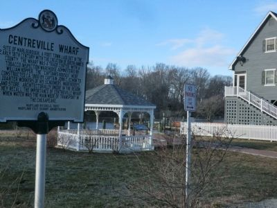 Centreville Wharf Marker image. Click for full size.