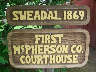 Sweadal 1869 Marker image. Click for full size.