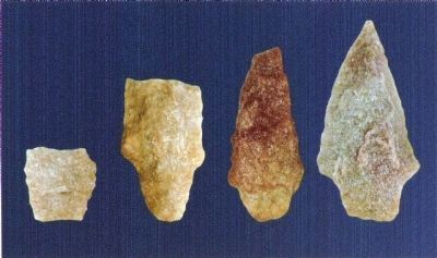 Archaic Spear Points image. Click for full size.