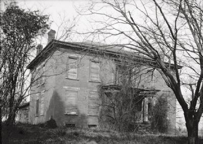 <i>FRONT ELEVATION - William Winston House, North Commons Street, Tuscumbia, Colbert County, AL</i> image. Click for full size.