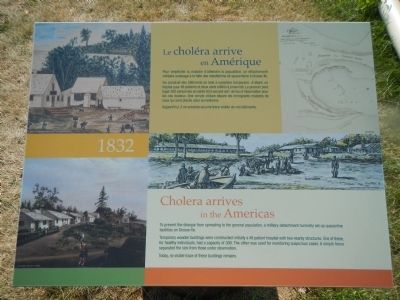 Cholera arrives in the Americas Marker image. Click for full size.