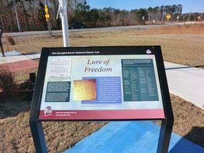 Lure of Freedom Marker image. Click for full size.