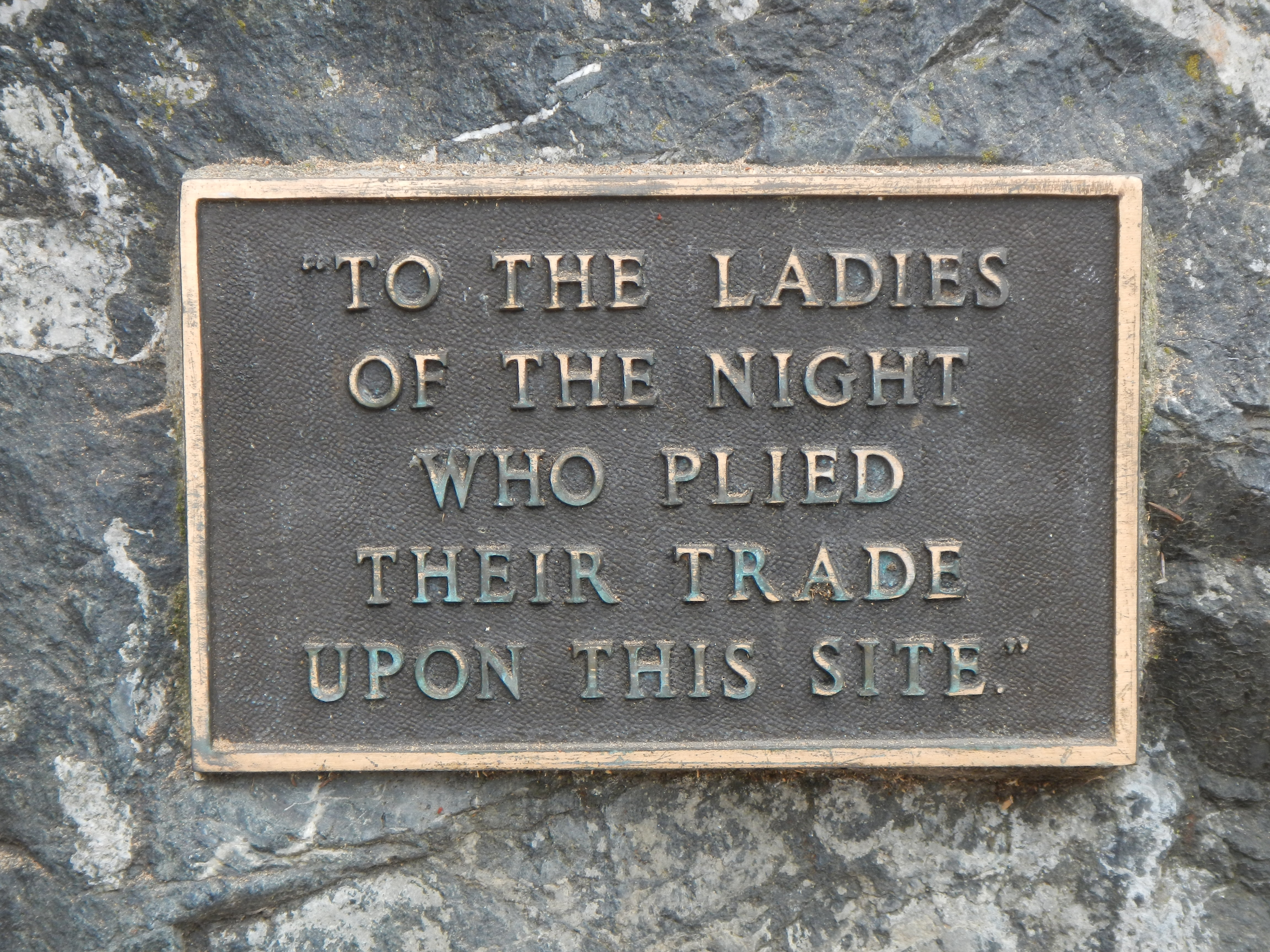 Ladies of the Night Marker