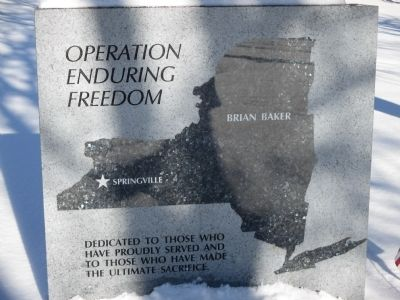 Operation Enduring Freedom Memorial image. Click for full size.